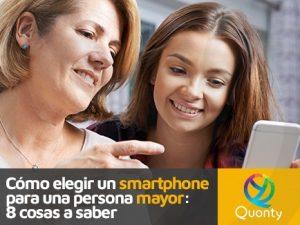 Elegir smartphone para persona mayor