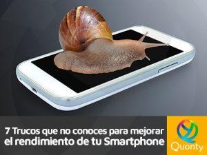 mejorar rendimiento del smartphone