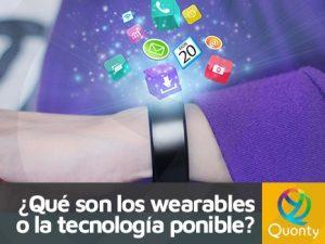 wearables o tecnologia ponible
