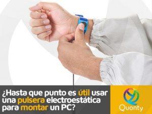 pulsera electroestática