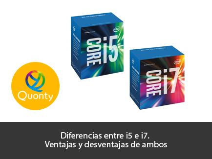 Resultado de imagen para diferencias y ventajas entre los procesadores i5 y el i7