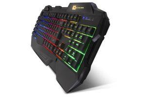 teclado ordenador retroiluminado