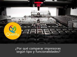 comparar impresoras