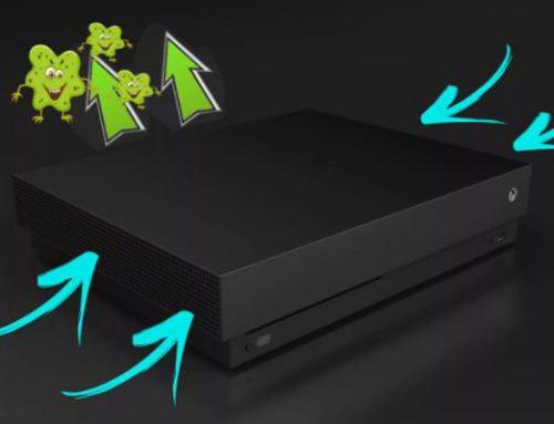 Cómo limpiar tu Xbox