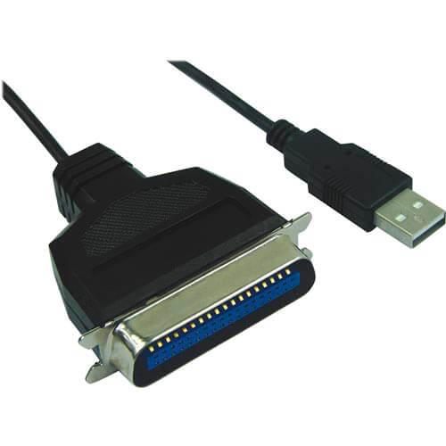 CABLE USB NANO CABLE USB A/M - PARALELO CN36/M 1.5M | Quonty.com | 10.03.0001