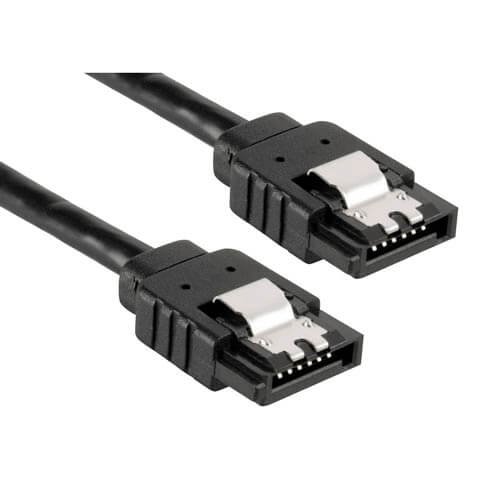 CABLE SATA3 DATOS NANO CABLE SATA3 RECTO SATA3 RECTO | Quonty.com | 10.18.1001-BK
