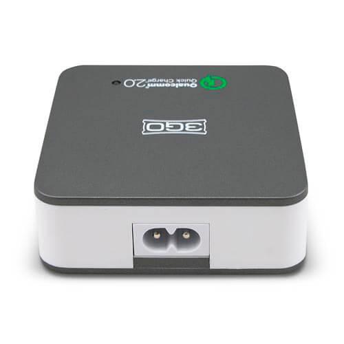 CARGADOR PARED 3GO 5USB (3+1 RAPIDO + 1 USB TIPO-C) | Quonty.com | ALMUSB5CQC