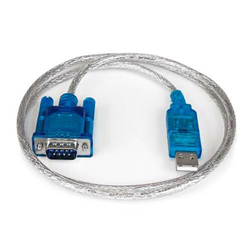CABLE USB 3GO USB2.0 A/M - SERIE DB9 RS232 0,5M | Quonty.com | C102