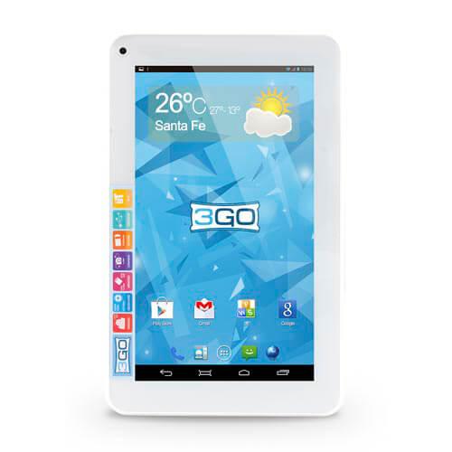 "TABLET 3GO GT7005EQC 7"" ECO QUADCORE 8GB 4.4 1,0GHZ BLANCA | Quonty.com | GT7005EQC"