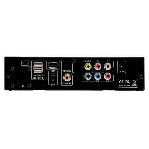 CAJA HDD MULTIMEDIA 3GO 2.5''/3.5'' SATA USB2.0 FULLHD HDMI NEGRA | Quonty.com | HDPLAY353