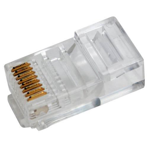 CONECTOR 3GO RJ45 CAT.5 100UNDS | Quonty.com | RJ45CAT5