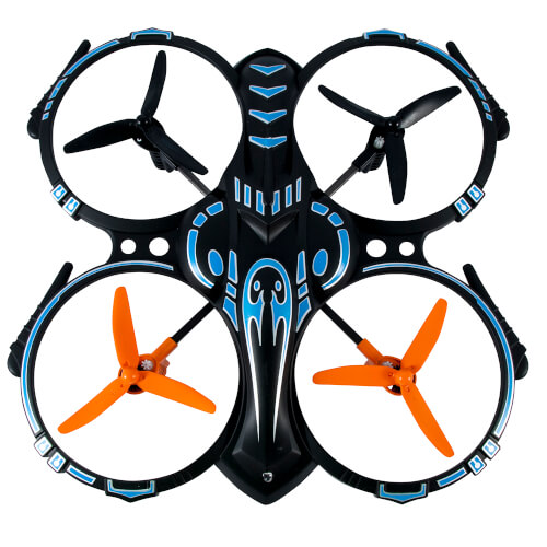 DRON 3GO HELLCAT-BL CUADRICÓPTERO 30M | Quonty.com | HELLCAT-BL
