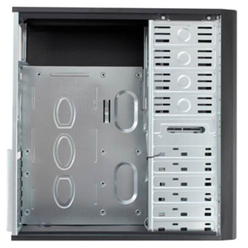 CAJA SEMITORRE/ATX UNYKA UK7852 500W USB3.0 C/LECTOR METAL NEGRA | Quonty.com | 51993