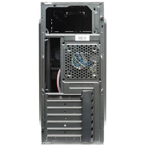 CAJA SEMITORRE/ATX UNYKA MAZE S/FUENTE USB3.0 NEGRA/ROJA | Quonty.com | 52063