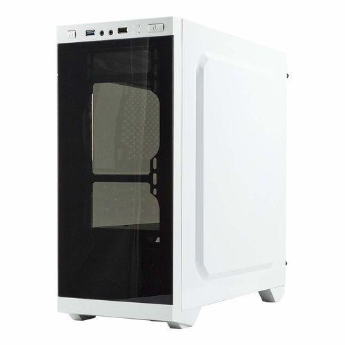 Caja Semitorre/Micro-Atx Unyka Armor C21 Usb3.0 Blanca | Quonty.com | 511206