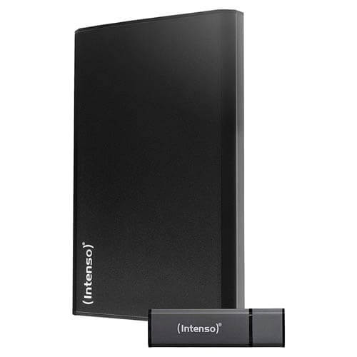 HDD INTENSO EXTERNO 2.5'' 1TB USB3.0 HOME + PENDRIVE 8GB | Quonty.com | 6026660
