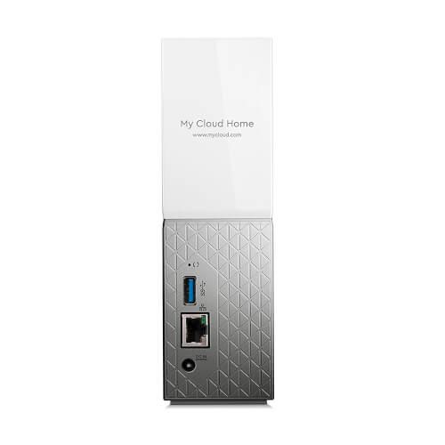 Disco Duro Externo Wd 6tb Lan 3.5&Quot; Usb3.0 My Cloud Home | Quonty.com | WDBVXC0060HWT-EESN