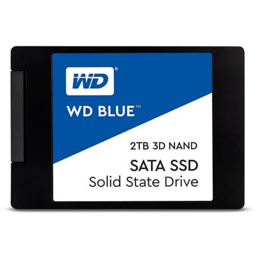 Ssd Western Digital Wd Blue Sata 2.5&Quot; 2tb 3d1 | Quonty.com | WDS200T2B0A