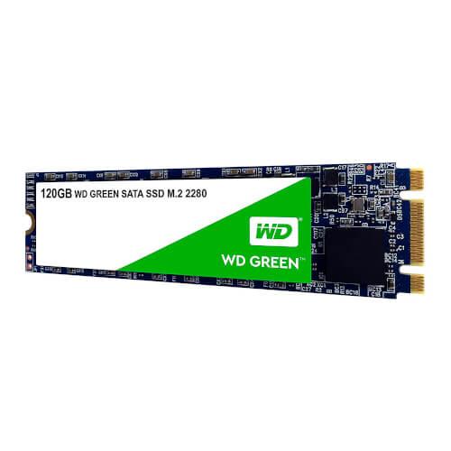 Ssd Wd Green Sata M.2 120gb | Quonty.com | WDS120G2G0B
