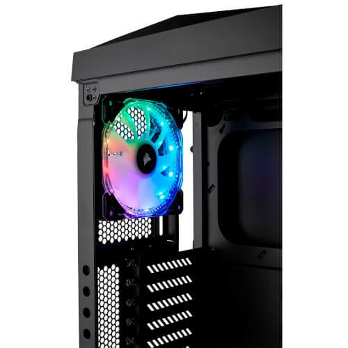 CAJA CORSAIR SEMITORRE CARBIDE SERIES SPEC-OMEGA RGB CRISTAL | Quonty.com | CC-9011140-WW