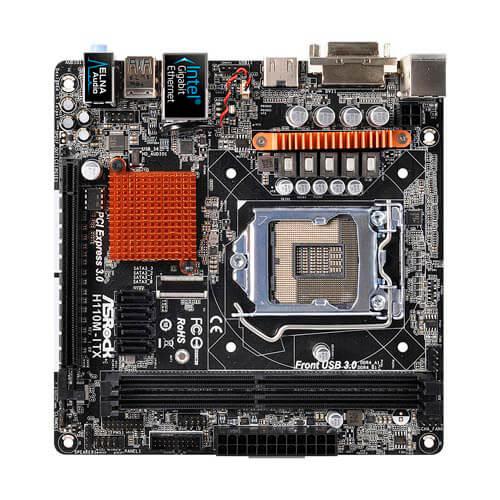 PLACA ASROCK H110M-ITX INTEL1151 DDR4 PCIE3.0 SATA3 USB3.0 HDMI/DVI MINI-ITX | Quonty.com | 90-MXB0N0-A0UAYZ