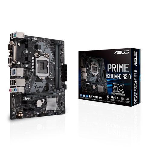 Placa Asus Prime H310m-D R2.0 Intel1151 2ddr4 Pcie3.0 Matx | Quonty.com | 90MB0YZ0-M0EAY0