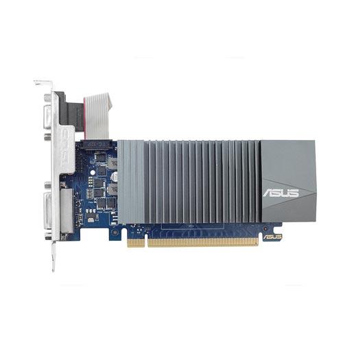 Asus Gt710-Sl-2gd5 2gb Gddr5 Pcie2.0 Hdmi Silent | Quonty.com | 90YV0AL1-M0NA00