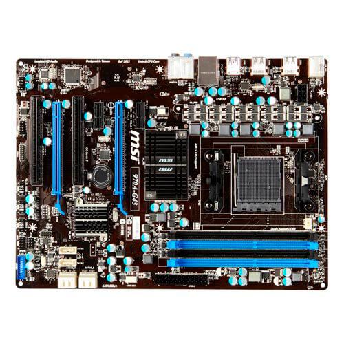 PLACA MSI 970A-G43 AM3+ 4DDR3 SATA3 USB3.0 ATX | Quonty.com | 970A-G43