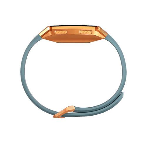 Reloj Inteligente Fitbit Ionic Gris Azulado- Naranja | Quonty.com | FB503CPBU-EU