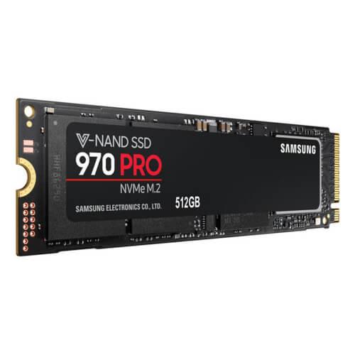 Ssd Samsung Serie 970 Pro Nvme (Mz-V7p512bw) 512gb | Quonty.com | MZ-V7P512BW