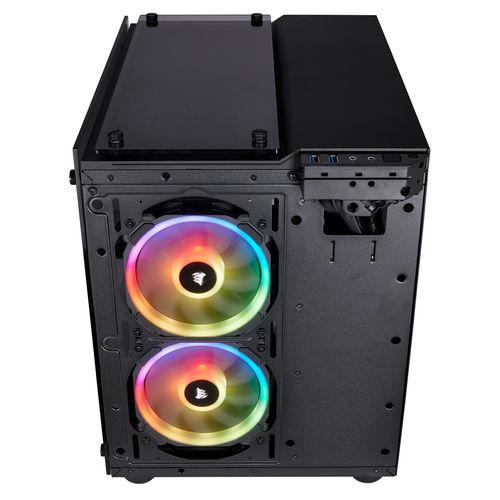 Caja Minitorre/Matx Corsair Crystal Series 280x Rgb | Quonty.com | CC-9011135-WW