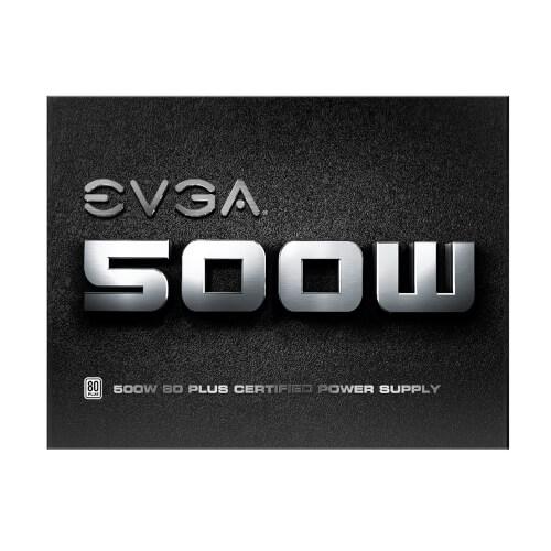 Fuente Alimentacion Evga 500 W1, 80+ White 500w | Quonty.com | 100-W1-0500-K2