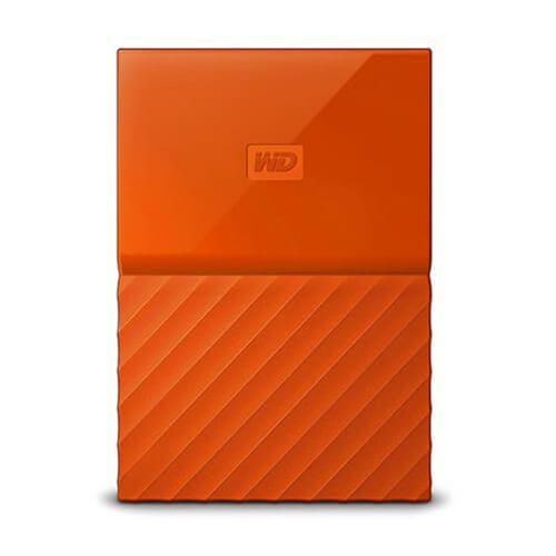 Hd Wd Externo 2tb Orange 2.5&Quot; My Passport Worldwide | Quonty.com | WDBS4B0020BOR-WESN