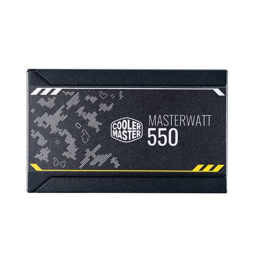 Fuente Alimentacion Cooler Master Masterwatt 550 550w 80+ Br | Quonty.com | MPX-5501-AMAAB-EF