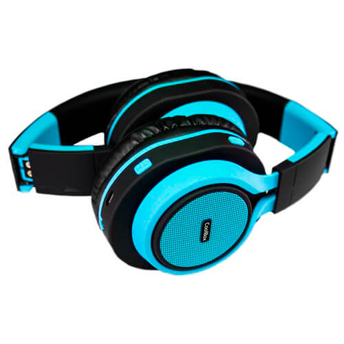AURICULARES COOLBOX COOLHEAD BLUETOOTH AZUL | Quonty.com | COO-AUB01-BL