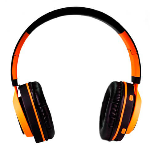 AURICULARES COOLBOX COOLHEAD BLUETOOTH NARANJA | Quonty.com | COO-AUB01-OR