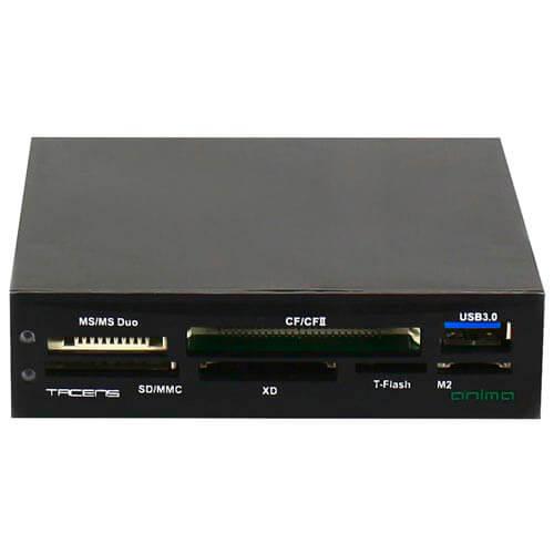 LECTOR INT 3.5'' TACENS ACR2 TARJ FLASH/USB2.0 | Quonty.com | ACR2