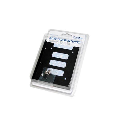 ADAPT. COOLBOX DISCOS SSD - BAHIA DE 3.5'' A 2.5'' | Quonty.com | COO-AB3525M