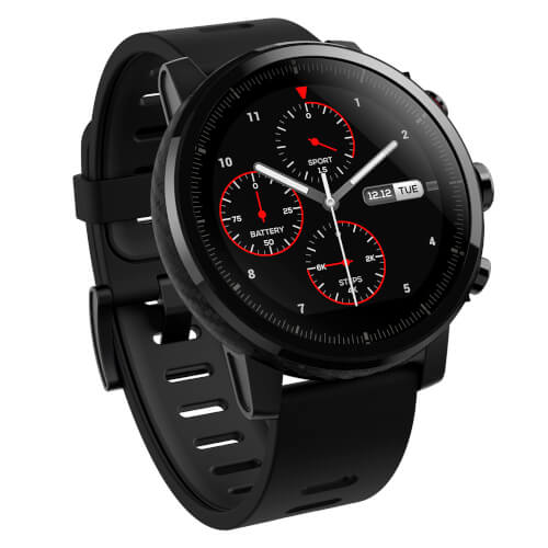 Smartwatch Xiaomi Amazfit Pace 2 Stratos Black | Quonty.com | AMAZFITPACE2BK