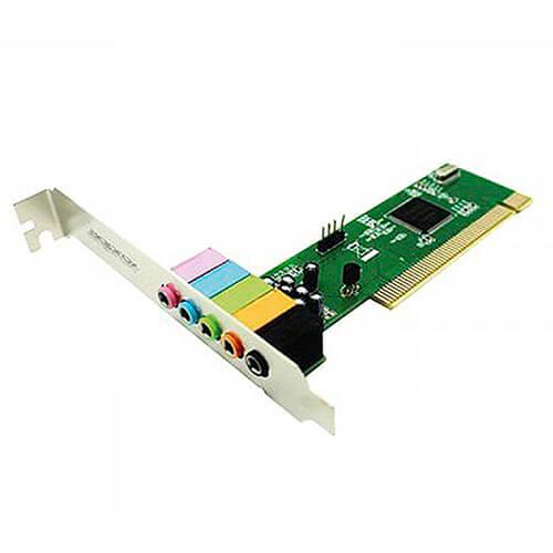 TARJETA DE SONIDO INTERNA APPROX PCI 5.1 | Quonty.com | APPPCI51