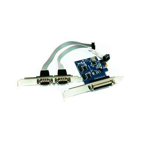 TARJETA PCI-E 2 PTOS SERIE + 1 PARALELO APPROX | Quonty.com | APPPCIE1P2S
