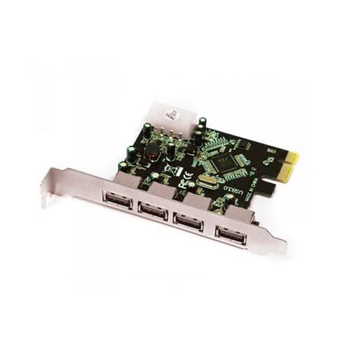 TARJETA PCI-E 4 PTOS USB3.0 APPROX | Quonty.com | APPPCIE4P