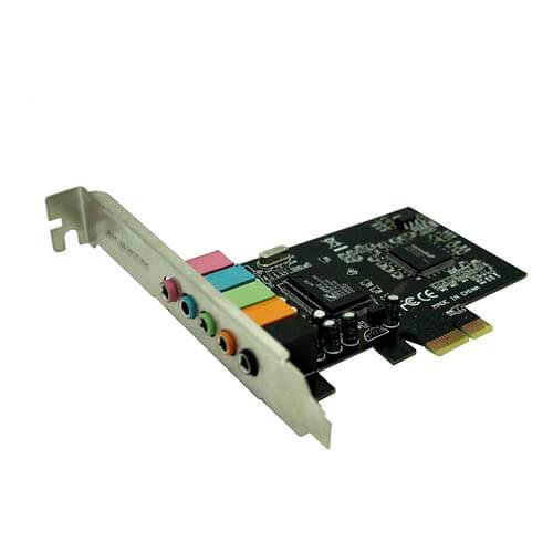TARJETA DE SONIDO APPROX PCI-E 5.1 | Quonty.com | APPPCIE51