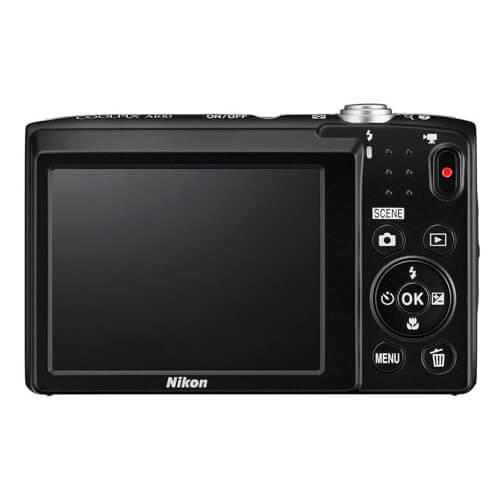 Camara Nikon Coolpix A100 Negra + Palo Selfie | Quonty.com | 999A100B1