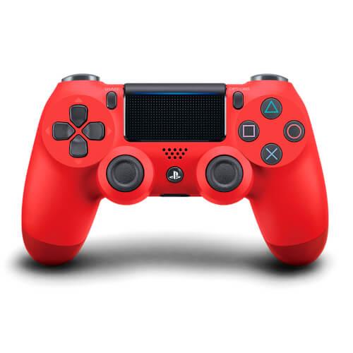 GAMEPAD ORIGINAL SONY PS4 DUALSHOCK ROJO V.2 | Quonty.com | 9893752