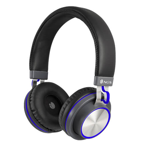 Auriculares Micro Ngs Artica Patrol Blue Bluetooth | Quonty.com | ARTICAPATROLBLUE