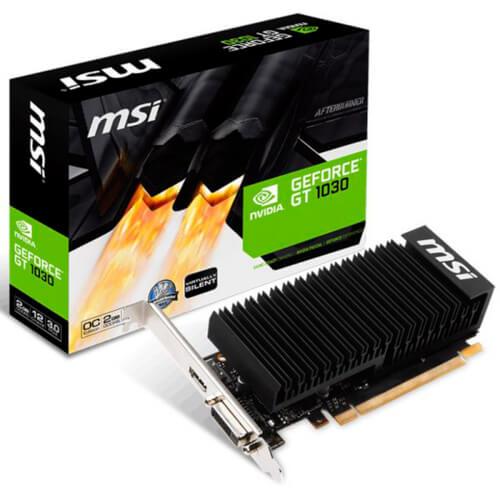 MSI GT 1030 2GH LP OC GDDR5 | Quonty.com | 912-V809-2652