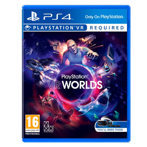 GAFAS SONY PLAYSTATION VR +CAMARA +VR WORLDS | Quonty.com | 9882466