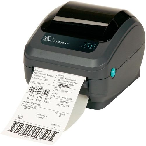 TPV IMPRESORA ETIQUETAS ZEBRA GK420D - USB/ETHERNET | Quonty.com | GK42-202220-000