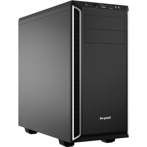 CAJA SEMITORRE/ATX BE QUIET! PURE BASE 600 BLACK/SILVER | Quonty.com | BG022